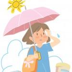 日傘の遮光とUVって?涼しさ、眩しさ対策には何色がいいの?