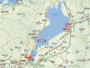 琵琶湖地図