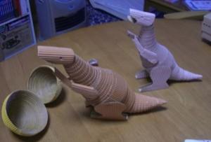 恐竜と卵2
